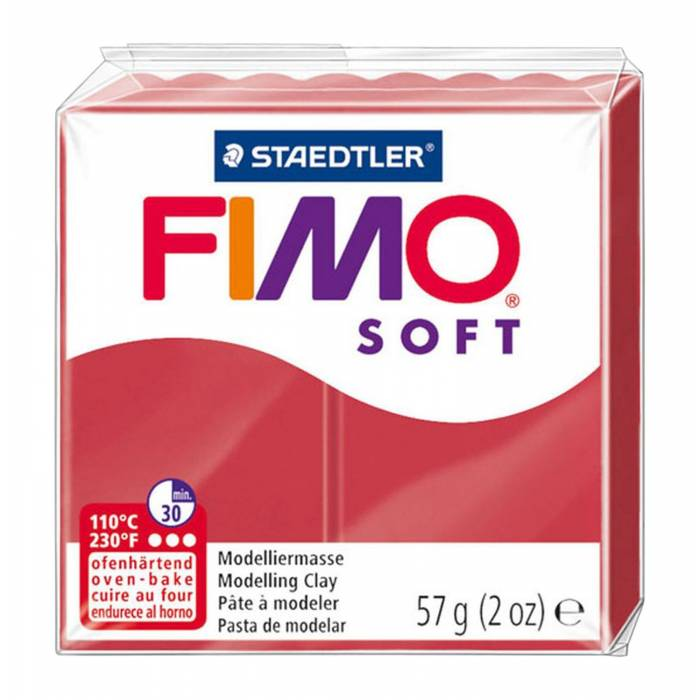 Πηλός FIMO STAEDLER 26 cherry red